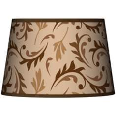 Fall Breeze Tapered Lamp Shade 13x16x10.5 (Spider)