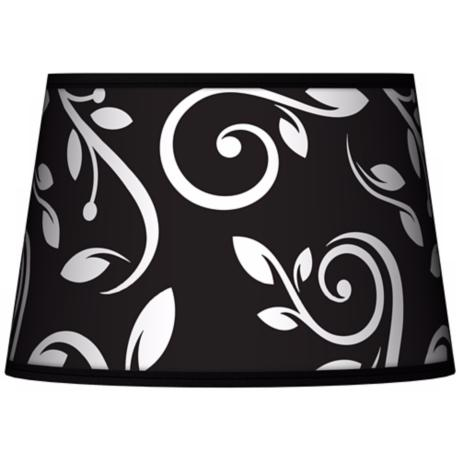 Swirling Vines Tapered Lamp Shade 13x16x10.5 (Spider)