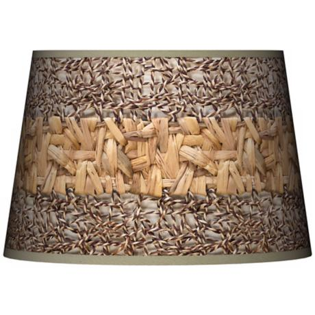 Woven Fundamentals Tapered Lamp Shade 13x16x10.5 (Spider)