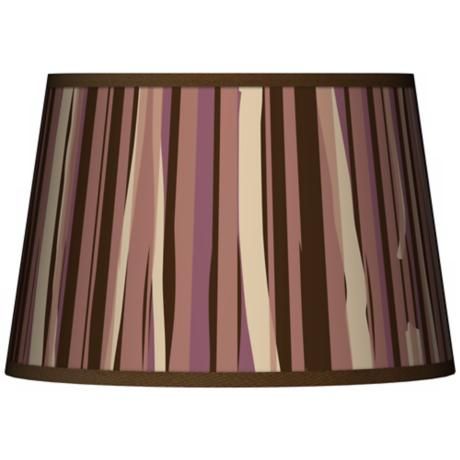 Kalahari Lines Tapered Lamp Shade 13x16x10.5 (Spider)