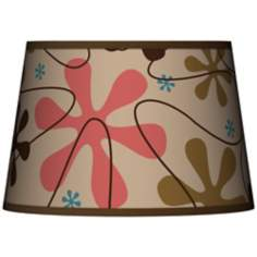 Retro Tapered Lamp Shade 13x16x10.5 (Spider)