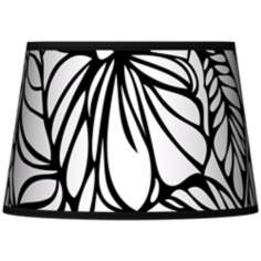 Jungle Moon Tapered Lamp Shade 13x16x10.5 (Spider)