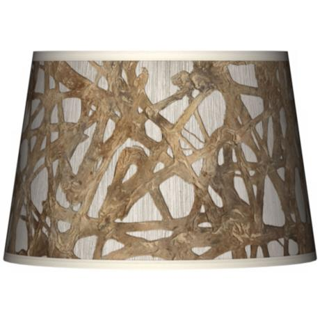 Organic Nest Giclee Tapered Lamp Shade 13x16x10.5 (Spider)