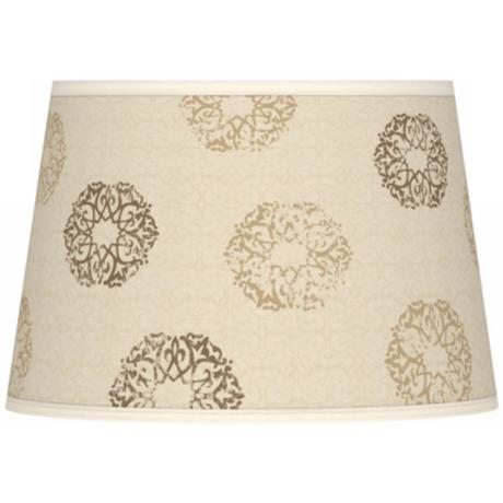 Sand Medallion Giclee Tapered Lamp Shade 13x16x10.5 (Spider)
