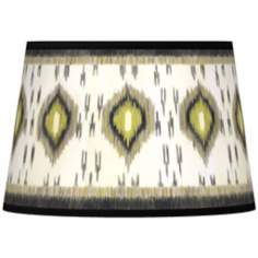 Desert Ikat Tapered Lamp Shade 13x16x10.5 (Spider)