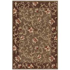 Winchester Collection Arcadia Tobacco Area Rug