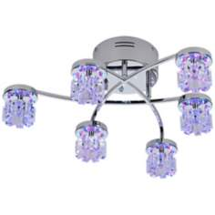 Possini Euro LED Light Show Semi-Flush Ceiling Light