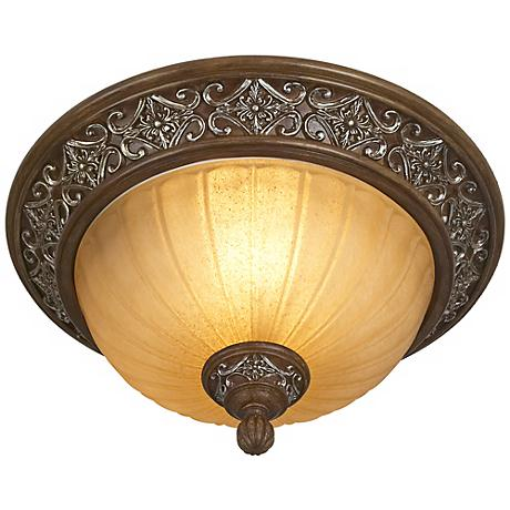 "Kathy Ireland Sterling Estate 14"" Wide Ceiling Light Fixture"