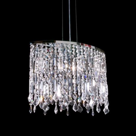 James R. Moder 4-Light Imperial Crystal Chandelier