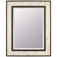 "Quoizel Monterey Mosaic 30"" High Rectangular Wall Mirror"