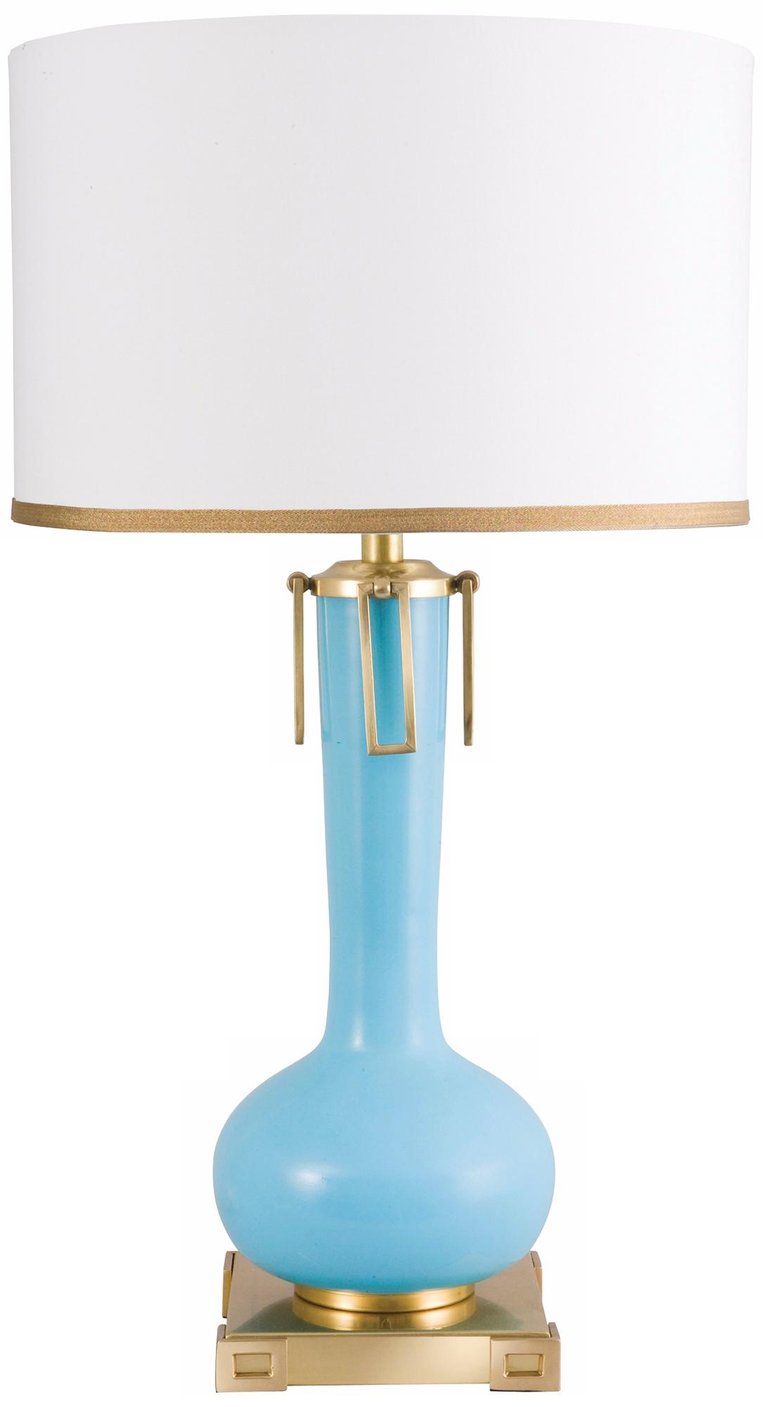Frederick Cooper Blue Eden Table Lamp (N9856)