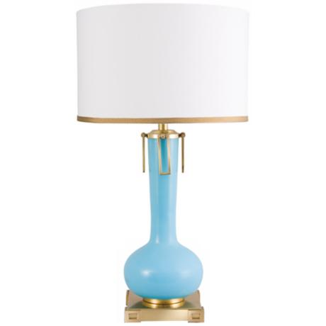 Frederick Cooper Blue Eden Table Lamp