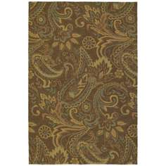 Home and Porch Rivers End Mocha Area Rug