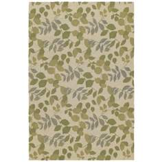 Home and Porch Wymberly Linen Area Rug