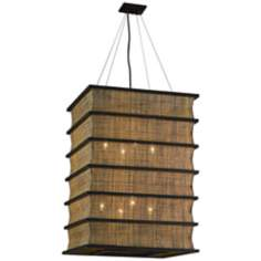 "Bento Collection 22"" Wide Pendant Chandelier"