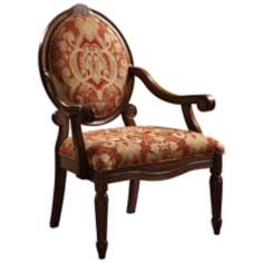 Brentwood Burgundy Accent Chair