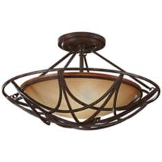 "Murray Feiss El Nido 18"" Round Ceiling Light Fixture"