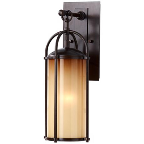 "Murray Feiss Dakota 17"" High Outdoor Wall Light"