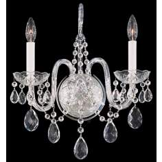 Arlington Collection Wall Sconce in Crystal (QS)
