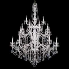 Schonbek  Arlington Collection 10 Light Crystal Chandelier