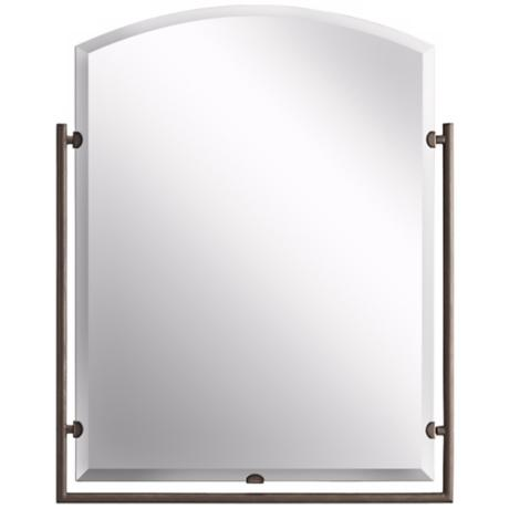 "Kichler Olde Bronze 30"" High Structures Mirror"