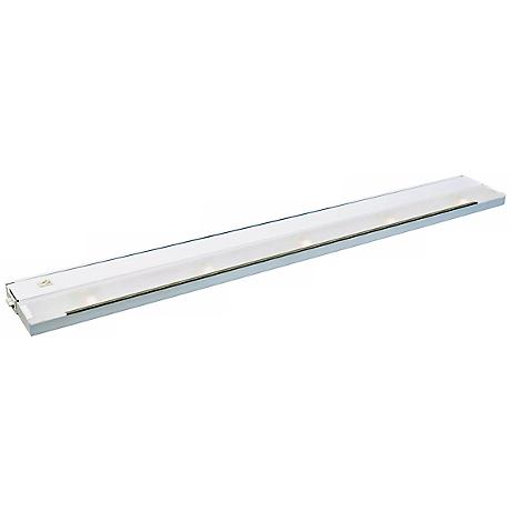 "Kichler White 40"" Wide Xenon Modular Under Cabinet Light"