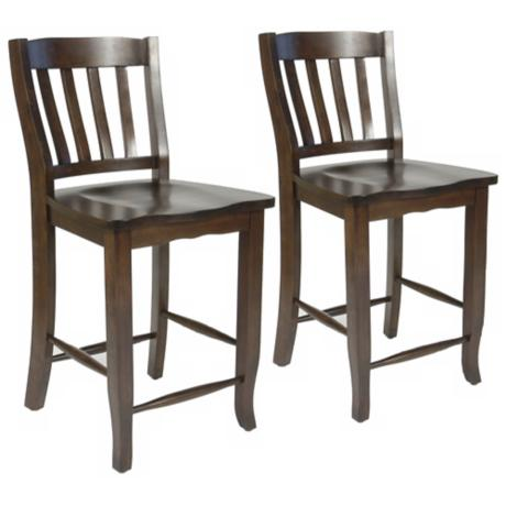 "Set of 2 Charlotte 30"" High Bar Stool"