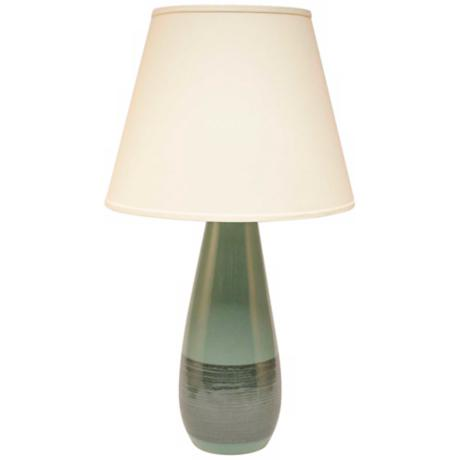 Haeger Potteries Adrift Ceramic Tear Drop Table Lamp