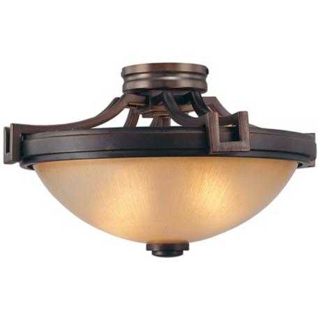 "Walt Disney Signature Underscore 16 1/2"" Wide Ceiling Light"
