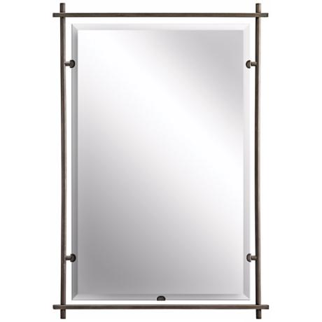 "Kichler Eileen Olde Bronze 39"" High Wall Mirror"