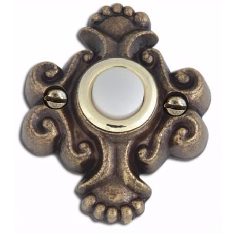Alhambra Aged Bronze Finish Door Bell