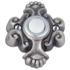Alhambra Pewter Finish Door Bell