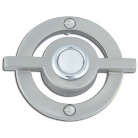 Avalon Brushed Nickel Finish Door Bell