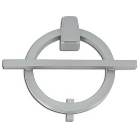 Avalon Brushed Nickel Finish Door Knocker