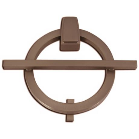 Avalon Aged Bronze Finish Door Knocker