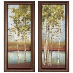 Set of Two Swaying Along I and II Framed Wall Art