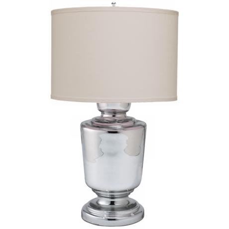 Jamie Young Small Laffite Mercury Glass Table Lamp