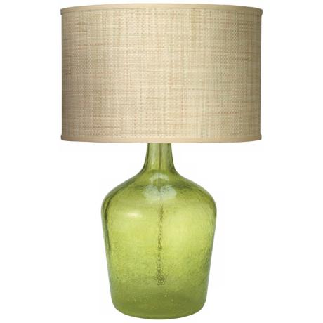 Jamie Young Medium Celadon Plum Jar Table Lamp