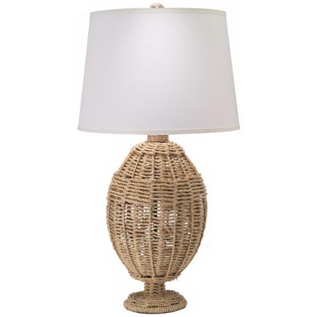 Jamie Young Large Jute Table Lamp