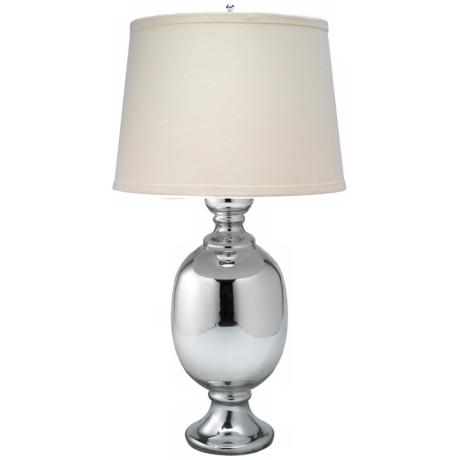 "Jamie Young Saint Charles Mercury Glass 26"" High Table Lamp"