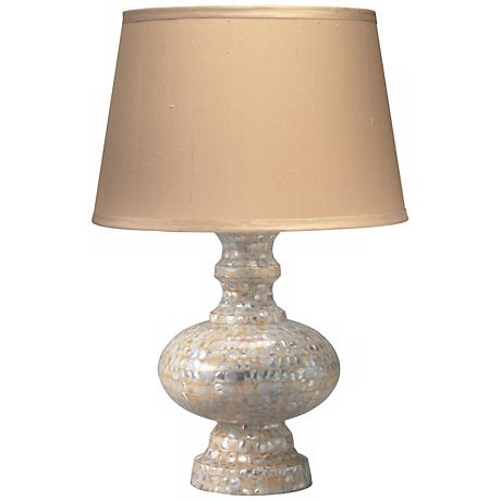 "Jamie Young Saint Croix Mother of Pearl 30"" High Table Lamp"