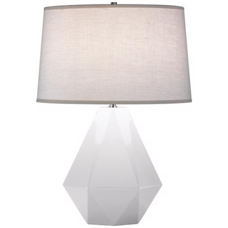 "Robert Abbey Delta Lily 22 1/2"" High Table Lamp"