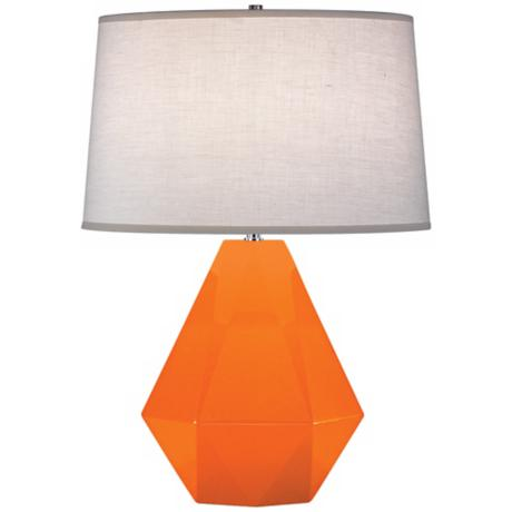 "Robert Abbey Delta Pumpkin 22 1/2"" High Table Lamp"
