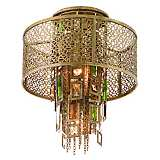 "Corbett Riviera Collection 12 1/4"" Wide Ceiling Light"