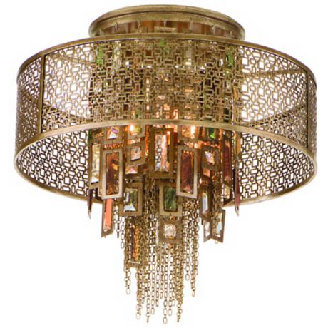 "Corbett Riviera Collection 18"" Wide Ceiling Light"