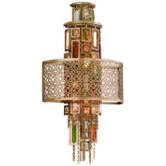"Corbett Riviera Collection 21"" High Wall Sconce"