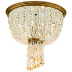 "Corbett Bali Collection 14"" Wide Ceiling Fixture"