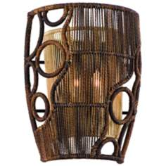 "Corbett Havana Collection 12 1/2"" High Wall Sconce"