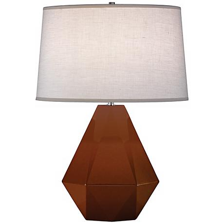 "Robert Abbey Delta Cinnamon 22 1/2"" High Table Lamp"