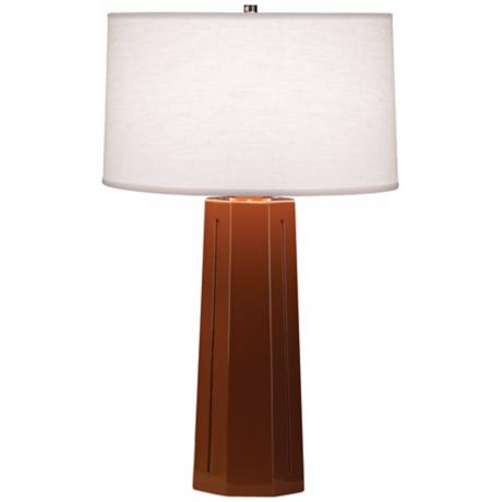 "Robert Abbey Isis Cinnamon 26"" High Table Lamp"